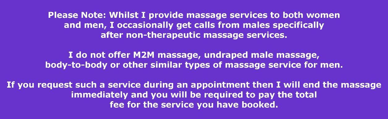 Sydney male massage